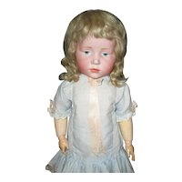 """17"""" Antique Kammer & Reinhart #101 Character Doll AS IS"""