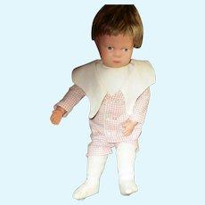 """13"""" Antique Wigged Schoenhut Toddler - Minty Condition"""