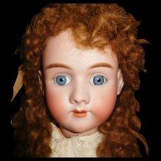 "33"" Antique Handwerck Halbig Doll Model #99 Marked Head & Body"