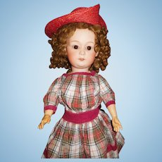 "20"" Antique Heubach Character Doll Model #8192"