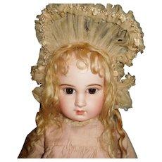 "26"" Antique & Fabulous Incised  DEPOSE JUMEAU - Mkd. Head & Body"