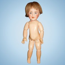 """15"""" Antique SFBJ # 236 Character Doll With Marked Jumeau Body - Head AS IS"""
