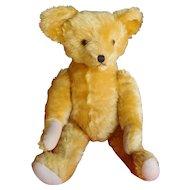 "28"" Antique Mohair Fully Jointed Teddy Bear"