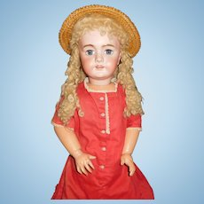 """34"""" Antique DEP Doll Made For French Market"""
