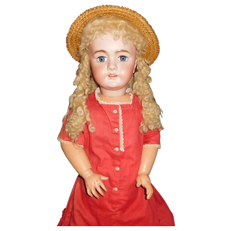 "34"" Antique DEP Doll Made For French Market"