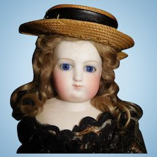 "16"" Antique Early French Fashion Doll Probably Barrois"