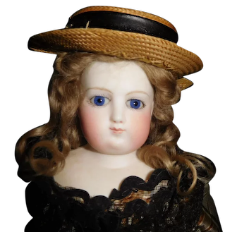 """16"""" Antique Early French Fashion Doll Probably Barrois"""