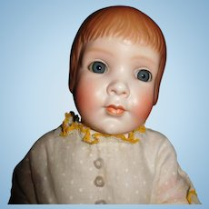 """18"""" Antique Grace Corey Rockwell Rare Character Doll Model #1391"""