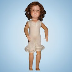 """19"""" Antique Dolly Face Schoenhut Doll - Almost Mint Condition"""