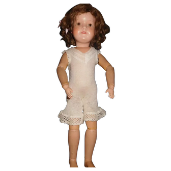"19"" Antique Dolly Face Schoenhut Doll - Almost Mint Condition"