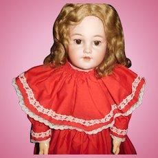 "25"" Antique Simon & Halbig Doll Model #1250 - Almost Mint Condition"