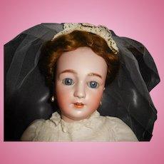 "26"" Antique Simon & Halbig Lady Doll Model #1159 Mkd Head & Body"