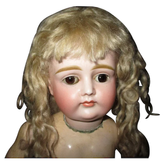 """15"""" Antique Adorable Closed Mouth Kestner Pouty Incised X - Ready To Dress"""