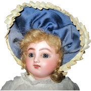 """17"""" Antique Gigateur or Kicking/Crying French Steiner"""
