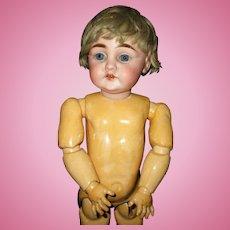 """15"""" Early Antique Letter B Kestner Doll Mold #143"""