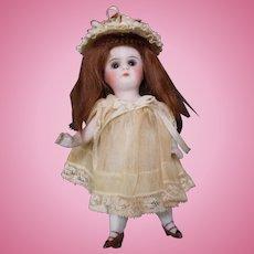 """Antique 5"""" All Bisque Kestner Mignonette Doll"""
