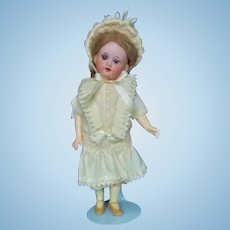 """Dress and Hat for 8"""" to 9"""" Antique Doll"""