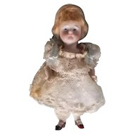 "5"" Antique Kestner All Bisque Doll"