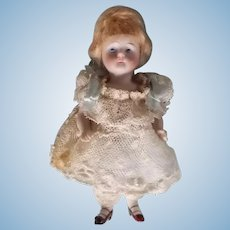 """5"""" Antique Kestner All Bisque Doll"""