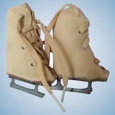 Vintage Pair of Ice Skates for Doll