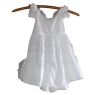 Beautiful Antique Mid 1800's Era Fine Batiste Child's Dress