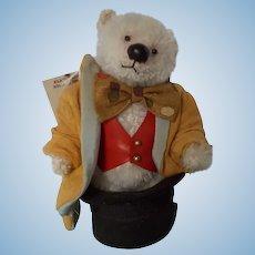 "Elaine Lonsdale Artist OOAK Miniature Teddy Bear ""Snooter"""