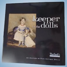 Keeper of the Dolls Theriault's Auction Catalog from June 2009