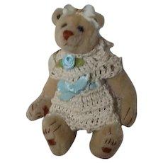 OOAK Miniature Teddy Bear by Catherine Arlin