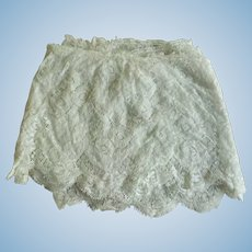 "51"" Edwardian Era Lace For Dolls"