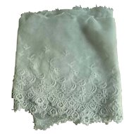 "32"" Early 1900's Era Fine Netting Lace for Dolls"