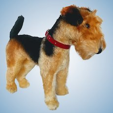 Vintage Steiff Terrier Dog