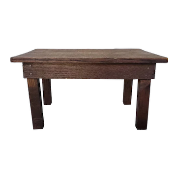 Nice Old Oak Doll Table