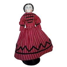 "9"" Antique China Head Doll"