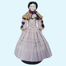 Very Sweet Antique China Head Doll