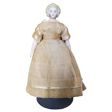 """Beautiful 7"""" Early Parian Doll"""