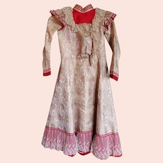 Antique Victorian Era Young Lady's Party Dress