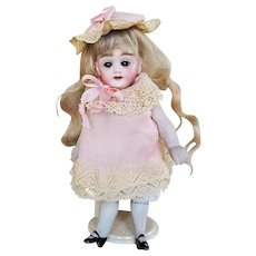 Dress and Hat For Antique All Bisque Mignonette Doll