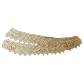 1920's Era Lace Collar From Woman's Garment