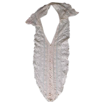 Woman's Antique Lace Collar and Insert