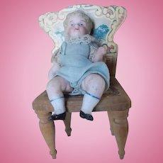 Antique Kestner All Bisque Boy Doll