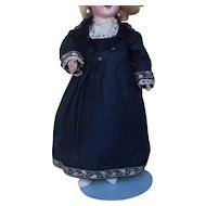 "Fine Cotton Dress for 12"" Doll"