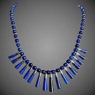Vintage Lapis Lazuli Collar Necklace