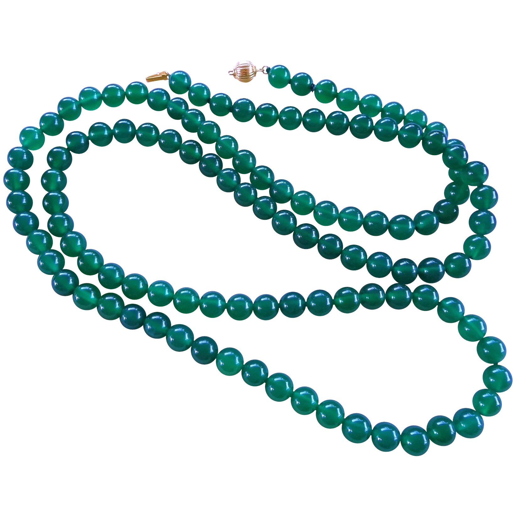 chrysoprase silver necklace the lining boutique products jewelry