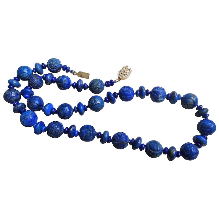 general rubymint products necklace sodalite