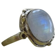 Vintage Moonstone Ring Size 5.5