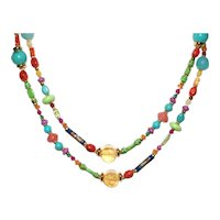 So Many Colors Summertime Fiesta Necklace