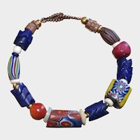 Antique and Vintage African Trade Bead Bracelet