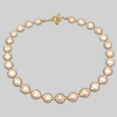 Cultured Freshwater Baroque Pearl Necklace