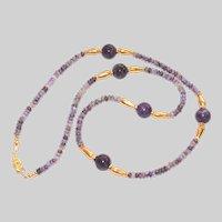 Purple Russian Charoite Necklace