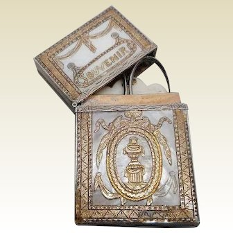18th century French pearl necessaire.